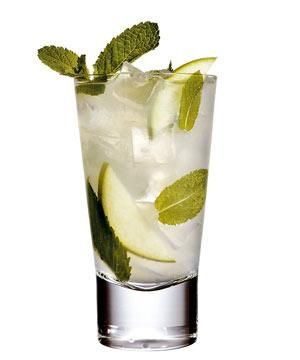 <strong>Calories: </strong>111<br /><strong>What's in it:</strong> Light rum crushed with ice, fresh mint, sugar and lime juice.<br /><strong>Healthy?</strong> This low-calorie drink is full of vitamin C - key for keeping winter bugs at bay - while the fresh mint can ease your overworked digestive system. Just make sure the barman doesn't use too much sugar.