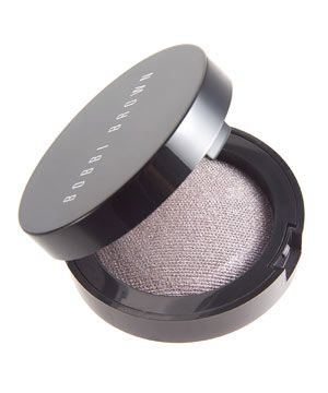 """<strong>BOBBI BROWN DIAMOND DUST IN ROCK STAR, £15.</strong><br /><br />•   """"For sex-kitten eyes, blend a pearly, blue-grey shadow on your outer socket and edge of your upper lid. This will elongate your eyes and make them look almond shaped. Sweep a little under the lower lashes, too."""" We love <strong>BOBBI BROWN DIAMOND DUST IN ROCK STAR,£15.</strong><br />"""