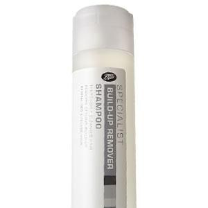 """<ul><li><strong>Boots Specialist Build-Up Remover Shampoo, £2.99</strong>. Developed by hair experts to spring clean your hair and leave it silky.</li></ul><br /><strong>COSMO'S VERDICT: </strong>""""This fragrance-free shampoo isn't powerful enough to cut through strong hair wax but would suit sensitive scalps."""" <strong>6/10</strong><br />"""
