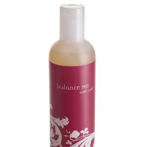 <ul><li><strong>2. BALANCE ME SUPER WASH, £8, </strong>smells gorgeous and gently cleanses skin, without drying it out.<br /></li></ul>