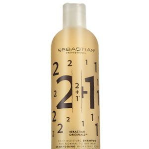 """<ul><li><strong>Sebastian Originals 2+1 Moisture Shampoo, £12.75.</strong> Combines two parts moisture to one part protein for ultimate hydration.</li></ul><p> </p><p><strong>COSMO'S VERDICT:</strong> """"This is designed for normal to dry hair so your mane won't lose it's bounce. The cinnamon and peach fragrance left my hair smelling yummy, too, so it's well worth a splurge."""" <strong>8/10 </strong></p>"""