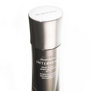 Use <strong>ELIZABETH ARDEN INTERVENE PAUSE & EFFECT MOISTURE LOTION SPF15, £39,</strong> to delay the ageing effects of environmental stresses such as pollution and sun exposure.<br />