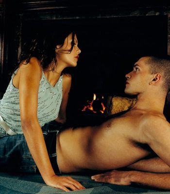<p>While tapping creates one type of tension, constant contact provides another kind that's just as satisfying. Grace your fingertip (or have your partner use his) across the G-spot in the same way that a window wiper does to a windscreen. The side-to-side touch sets off nearby nerve endings and creates a spill-over effect of pleasure around your G-spot</p>