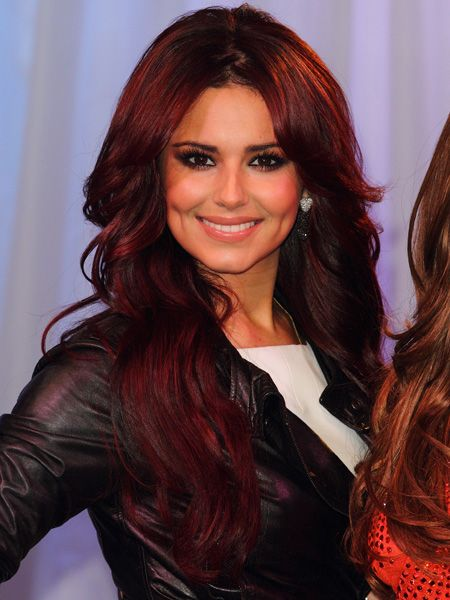 Cheryl has experimented with plum before, but this time her tresses seem to be taken with it. Her long, extension-heavy hair has been given an autumn/winter make-over proving berry hues are the colour code for this season