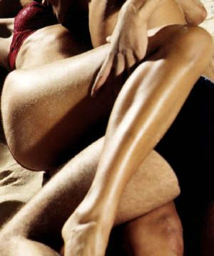 <p>Having firm pelvic muscles intensifies the sensation of having him inside you.  Practice squeezing them as if you're holding back your bladder. <br /></p>