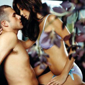 The passion pose: Cosmic rush<br /></strong></p><p><strong>Instead of straddling him with his body lengthways on the bed, get him to lie sideways across the mattress. Once you're on top of him, inch him toward the edge of the bed until his head, shoulders and arms hang backwards over the side. Now, up the pace by reaching behind you and pressing firmly on his perineum (the spot between his testicles and anus). Men come in two phases: orgasm and ejaculation. By pressing on his perineum, you delay ejaculation and actually extend his already powerful climax.