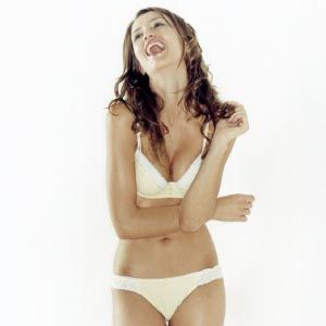 <p>Just because you're dressing with him in mind doesn't mean it shouldn't please you, too. Choose underwear that makes you feel sexy.</p>
