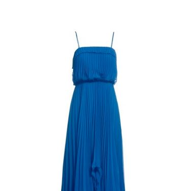 "<p>Scalloped edges and all over pleats. This blue wonder is wedding season perfect</p><p>£120, <a href=""http://www.monsoon.co.uk/new-dresses/eves-dress/invt/85329361/""target=""_blank""> monsoon.co.uk </a></p>"