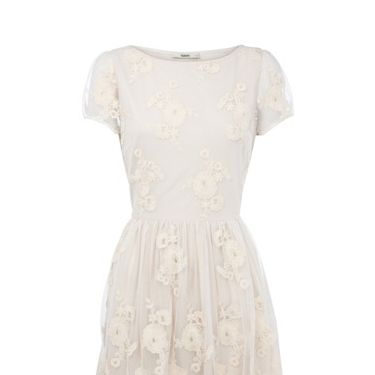 "<p>This cutesy, cropped sleeve dress is just what you need to attend the party. Add vintage style accessories for the wow! Factor</p><p>£60, <a href=""http://www.oasis-stores.com/Fleur-Embroidered-60s-Dress/Dresses/oasis/fcp-product/3170083804""target=""_blank""> oasis.com </a></p>"