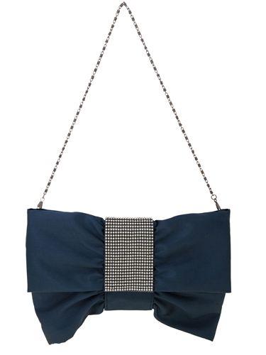 Textile, White, Style, Bag, Black, Electric blue, Shoulder bag, Cobalt blue, Triangle, Undergarment,