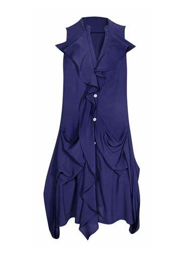 Sleeve, Purple, Electric blue, One-piece garment, Cobalt blue, Satin, Day dress, Costume, Costume design, Fashion design,