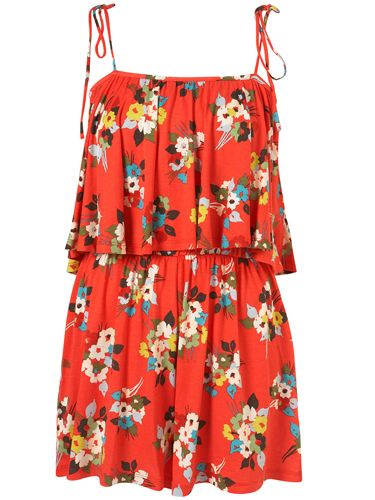 Product, Sleeve, Red, Textile, Orange, Pattern, One-piece garment, Dress, Fashion, Day dress,