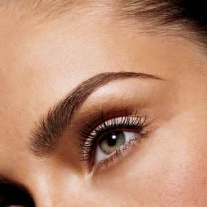 """Curl your lashes first. Then, starting at the centre of the lids, place your mascara wand at the roots, so your lashes are pushed almost upright. Wiggle the wand side to side as you stroke it through, pulling the outer corners out, not up, for a wide-eyed look. Colour bottom lashes by stroking them sideways with the tip of the wand. Apply a second coat before the first dries to prevent clogging.""<br /><br />"