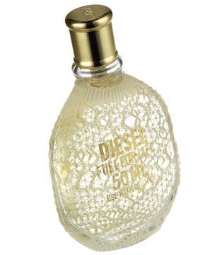 DIESEL FUEL FOR LIFE, £31, has a delicious cassis note and comes dressed in lace. <br />