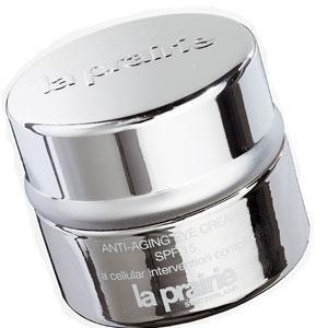 La Prairie, Anti-Ageing Eye Cream SPF15, £84<br /><br />