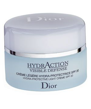 Dior HydrAction Visible Defense Hydra-Protective Light Crème SPF20, £36<br /><br />
