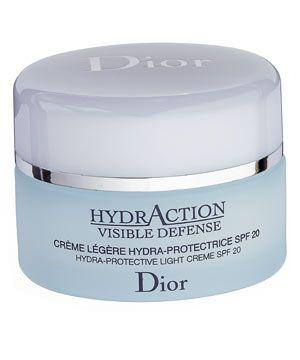 Dior HydrAction Visible Defense Hydra-Protective Light Crème SPF20, £36<br /><br />
