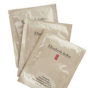 Elizabeth Arden Cermacide Plump Perfect Firming Facial Mask, £35 (for four sachets)<br /><br />