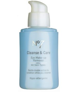 No7 Cleanse & Care Eye Make-Up Remover, £6.50<br /><br />