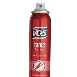 VO5 Tame & Shine Heat Defence Taming Spray, £2.99<br /><br />