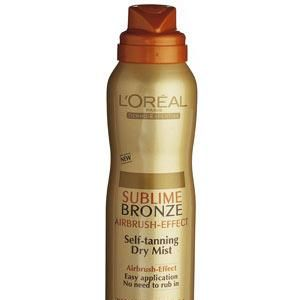 """L'Oreal Paris Sublime Bronze Self-Tanning Dry Mist, £11.99<br />""""I'm always on the lookout for a great fake tan and L'Oreal Paris Sublime Bronze Self-Tanning Dry Mist is perfect. It gives such a natural colour"""" Rachel Stevens<br /><br />"""