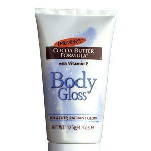 Palmer's Cocoa Butter Formula Body Gloss, £4.15<br /><br />