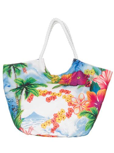 "<p>And this matching 'Island Paradise' beach bag would be a nice little addition to the swimmers. Don't mind if we do!</p>   <p>£28, <a href=""www.ripcurl.com""target=""_blank"">ripcurl.com</a> or at 01637 850848</p>"