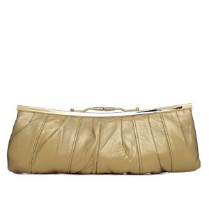 "<p><strong>3</strong>.</p><p>""Whatever you buy this season, be sure to get a waist belt - it can update your best dress, basic vest or even last winter's coat.""</p><p>Coplete the look with this autumn gold Clutch!</p><p> </p><p>Clutch, £95, Solas at www.lastarstyle.co.uk </p>"