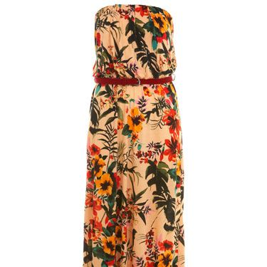 """<p>This dress makes us long for pina coladas and never ending sunsets. Cute sandals and wavy hair are a must!</p><p>£40, <a href=""""http://www.missselfridge.com/webapp/wcs/stores/servlet/ProductDisplay?beginIndex=0&viewAllFlag=&langId=-1&storeId=12554&catalogId=33055&parent_category_rn=&categoryId=208036&productId=2536783""""target=""""_blank"""">missselfridge.com</a></p>"""