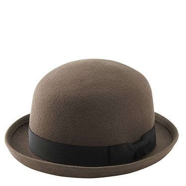 <p>Bored of your trilby and floppy sunhat already? Enter Uniqlo's bowler – a super-cool alternative, ideal for rainy spells at fests</p>