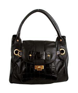 "<p>DAY</p><p>Bag, £65</p><p><a href=""http://www.modainpelle.com/bags/Handbags/006379.aspx?&position=13""><strong>www.modainpelle.com</strong></a> </p>"