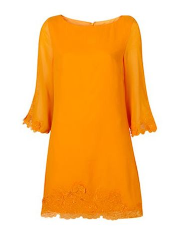 "<p>Make a statement in this orange long sleeved shift dress. The cute 3D flower design on the hem adds something special</p><p>£42, <a href="" http://www.topshop.com/webapp/wcs/stores/servlet/ProductDisplay?catalogId=33057&storeId=12556&productId=2521778&langId=-1&sort_field=Relevance&categoryId=208523&parent_categoryId=203984&pageSize=20&siteID=0RpXOIXA500-vqroCzM3O4_Nqt9NzJePNw&cmpid=ukls_deep"">topshop.com</a></p>"