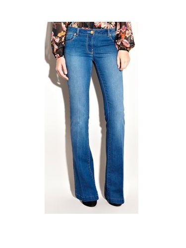 "<p>Make it casual with these washed denim flares. They will look great with a blouse and some towering wedges</p><p>£45,<a href=""  http://www.warehouse.co.uk///warehouse/fcp-product/305904#GBP  "">warehouse.com</a></p>"