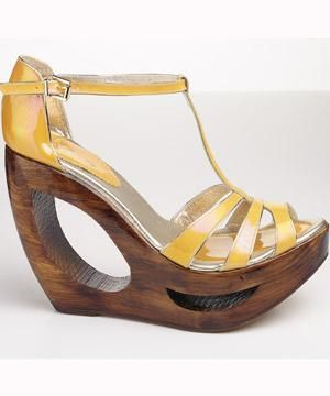 <p>Platforms are back, and they're bigger and sexier than ever. For more comfort, opt for wedges.</p>    <p>Shoes, £145, Faithsolo by El Dantes<br /></p>