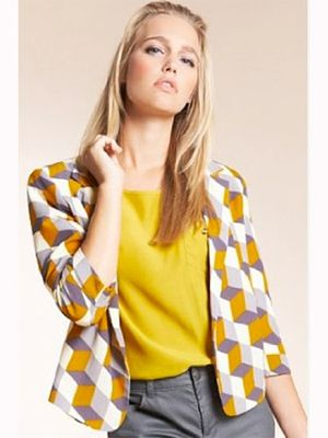 "<p>The Fashion Geometrics range has landed at Marks and Spencer and we can't wait to get our hands on some of their bold graphic prints.  Make a statement in this cube print jacket. Don't be afraid to team it with clashing bright colours if you're looking to nail two trends in one</p><p>£29.50,<a href="" http://www.marksandspencer.com/Open-Front-Sleeve-Print-Jacket/dp/B005J1PW6W?ie=UTF8&ref=sr_1_2&nodeId=42966030&sr=1-2&qid=1315919057&pf_rd_r=0GK97YCY184QSCZBRV2Z&pf_rd_m=A2BO0OYVBKIQJM&pf_rd_t=301&pf_rd_i=0&pf_rd_p=215485807&pf_rd_s=center-3"">marksandspencer.com</a></p>"