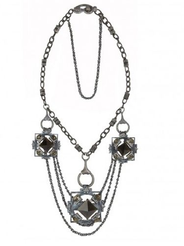 "<p>A dramatic piece of jewellery can be the perfect way to finish an outfit and it doesn't get more dramatic then this necklace from All Saints. So good you won't want to take it off</p><p>£120, <a href=""http://www.allsaints.com/women/new/chareau-necklace/dust-quartz/wnk156-2766"">allsaints.com</a></p>"
