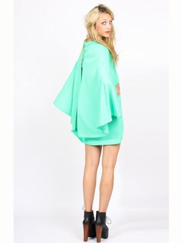 "<p>The neon colour of this dress is amazing and we are loving the unique cape detailing at the back. We want!</p><p>£35, <a href=""http://www.yayer.co.uk/product/neon-lights-cape-dress"">yayer.co.uk</a></p>"