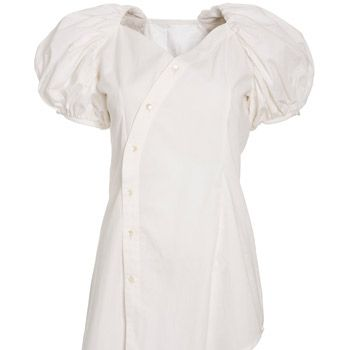 "<strong>Winner:</strong> <a target=""_blank"" href=""http://www.peopletree.co.uk"">Peopletree.co.uk</a><br /><br /><strong>White puff sleeve blouse £65.00 </strong><br /><br />"