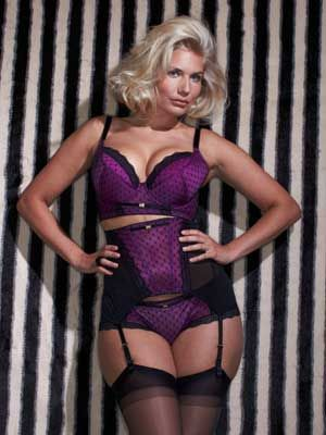 "<p>This super plunge bra really has the wow factor with luxurious purple satin and stunning scallop-edged fishnet lace. Padded - with matching suspenders available - for extra va-va-vroom. A lust-have! </p> <p><em><a href=""http://www.simplyyours.co.uk/shop/product/details/show.action?pdLpUid=SX437&pdBoUid=4885&lpgUid=#colour:PURPLE,size:"">Gossard Sassy Plunge Bra</a>, £34</em></p>"