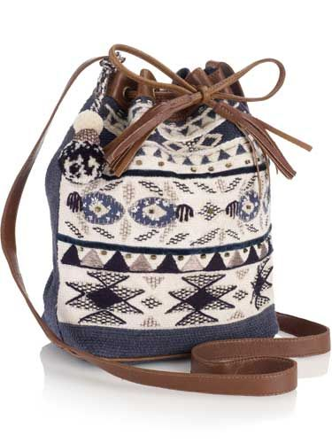 "<p>This knitted duffle bag is perfect for giving a nod to autumn/winter's hand-crafted Navajo trend.</p><br>£30,<a href=""www.accessorize.com"">Accessorize</a>"