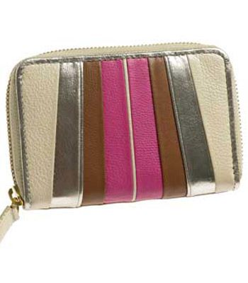 "<strong>Winner:</strong> <a target=""_blank"" href=""http://www.debenhams.com"">www.debenhams.com</a><br /><br /><strong>Butterfly by Matthew Williamson Gold Striped Zip Around Purse £15.00</strong><br /><br />"