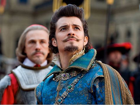 <strong><p>Three Musketeers (Orlando Bloom, Milla Jovovich, Logan Lerman)</p></strong> <p><strong>Films of the week</strong></p>  <p>Orlando leaves his good-guy days in <i>Pirates</i> behind as he plays cheeky-ole rascal The Duke of Buckingham in this action-packed frenzy. But sorry Bloomy, as amazing as you are, we have to say we have a new sword-fighting crush in this movie the form of lovely Logan Lerman. The newcomer plays D'Artagnan, who joins three washed-up musketeers as they try to defeat the evil Richlieu (Christopher Waltz), who's trying to seize the French throne. Milla also throws some pretty kick-ass moves as the treacherous Milady, and her costumes rock, too. A must-see if you're up for some French, fight-tastic fun. And don't worry – they don't actually use the corny line, 'One for all, and all for one' THAT much. Plus Take That did the soundtrack. Winner!</p> <p><strong>Jacqui Meddings</strong></p>