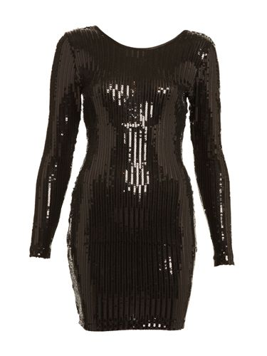 <p>Crank up the pulling power of your body-con dress with one like this, drenched in sequins. Your sexy figure will catch his eye for sure! </p> <p>£29.99, stockist 0141 552 2020</p>