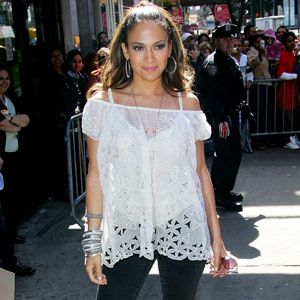 <p>J-Lo does Latino like no other. Her signature hoop earrings, chunky bangles and off-the-shoulder gypsy tops are a timeless boho look few other celebs can pull off. </p>