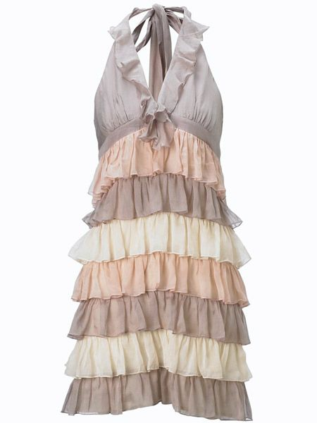 "<p> </p><h3>Silk ruffle dress £35  </h3><p> </p><p>Style number: 1376851 </p><p> </p><p><a target=""_blank"" href=""http://www.newlookmostwanted.co.uk/"">newlookmostwanted.co.uk </a></p>"