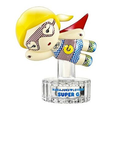"""<p>OMG we love the look of this superhero from Harajuku Lovers! Not only is it designed by the uber-cool Gwen Stefani but your dresser table will be instantly transformed into something infinitely cooler – our order is in!</p> <p>£20, <a href=""""http://www.hlfragrance.com"""" target=""""_blank"""">hlfragrance.com</a></p>"""