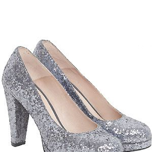 """Ever since Miu Miu showcased their glittery heels we've been OBSESSED with disco shoes. When these glitzy numbers popped up in our inbox we just had to share them with you. Do you like?<p>£150, <a href=""""http://www.gannistore.com/"""">Ganni</a></p>"""