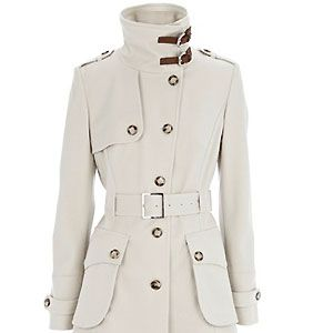 """Some coats, no matter how warm and cosy they are, still leave your neck freezing in the cold. Well Karen Millen has our best interests at heart and have come up with this clever creation. Let's make our mothers proud<p>£210, <a href=""""http://www.karenmillen.com/Posh-cotton-coat/Coats-&-Jackets/karenmillen/fcp-product/903000056579"""">Karen Millen</a></p>"""