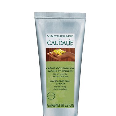 """<p>We love the vinotherapy approach in Caudalie products to help skin get maximum goodness and this cream is no exception. Shea butter, grape-seed oil, avocado, plant glycerine and sweet orange – sounds like a kitchen cupboard full of natural goodness!</p><p>£11.50k, <a href=""""http://www.caudalie.com/uk/corps/hydrater/hand-and-nail-cream.html"""" target=""""_blank"""">caudalie.com</a></p>"""