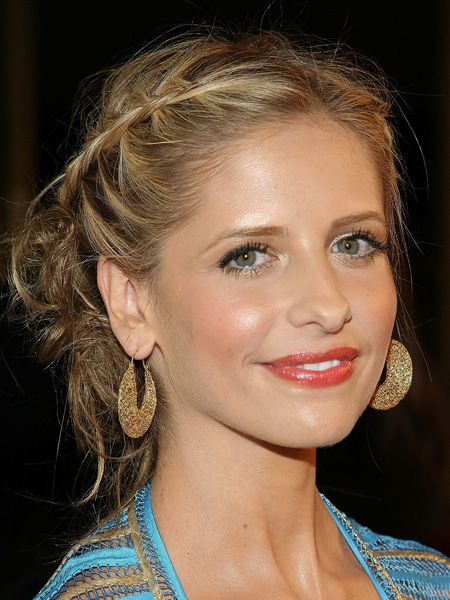 <p>Tousled tresses, beautiful braids and romantic waves, all the girly girls are in hair do heaven with this pretty hair trend</p>    <p> <br />Left: Sarah Michelle Gellar dons pretty plaits with perfection</p>